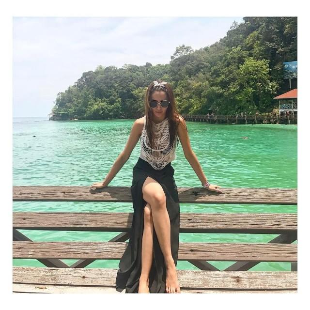 Kris Bernal Faced Bashers Who Called Her 'Skin And Bones', She Posted Her Malaysian Vacation Pictures As Proof That She Is Healthy!