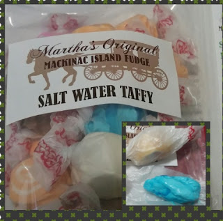 Salt Water Taffy from Mackinac Island