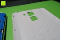 "Deckel: HOMTOM HT30 3G Smartphone 5.5""Android 6.0 MT6580 Quad Core 1.3GHz Mobile Phone 1GB RAM 8GB ROM Smart Gestures Wake Gestures Dual SIM OTA GPS WIFI,Weiß"
