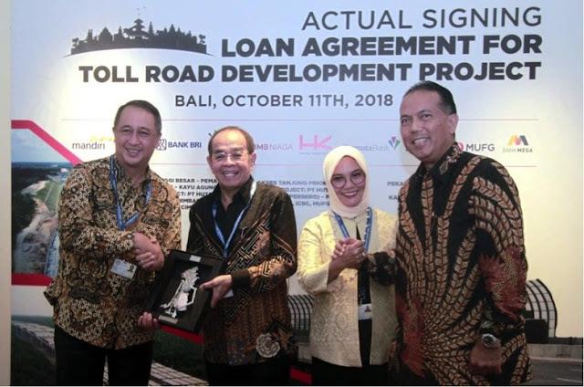 Bangun Tol di Lampung dan Sumsel, Bank Mandiri Kucurkan Rp 2,041 T