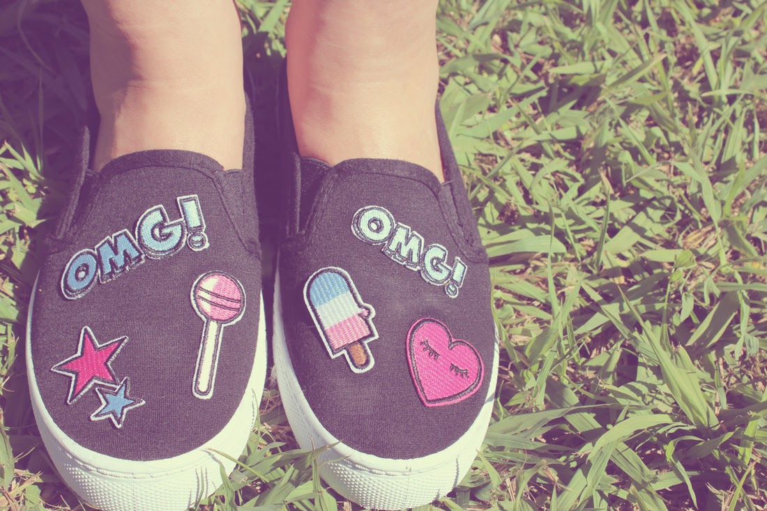 Customizar zapatillas de lona (slip on)