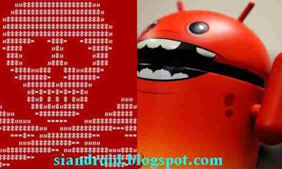 ransomware wannacry di HP android