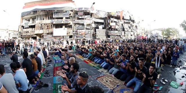 Satu Truk Penuh Bahan Peledak, Tewaskan 250 Warga Irak Saat Khusyuk Laksanakan Shalat Ied