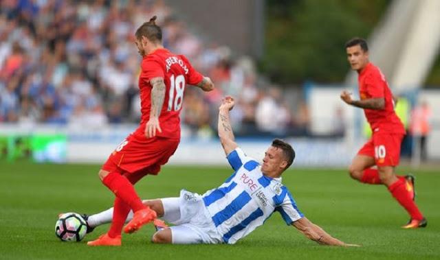 Típ vàng bóng đá Liverpool vs Huddersfield