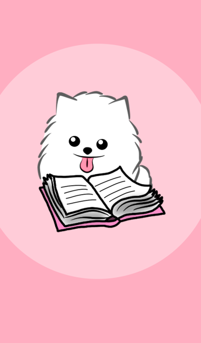 Katang white puppy