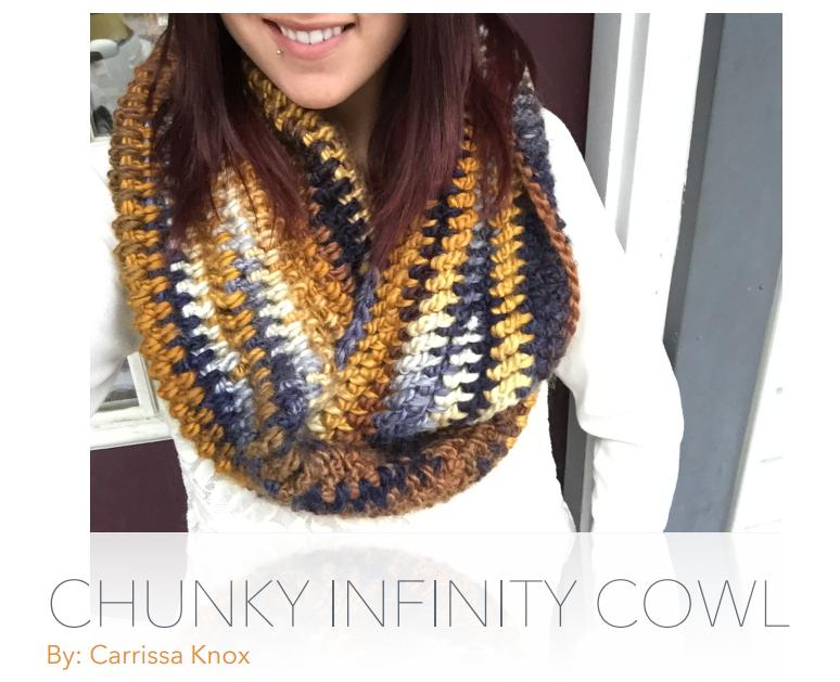 d59b3575e5f NEW Chunky Infinity Cowl Pattern!