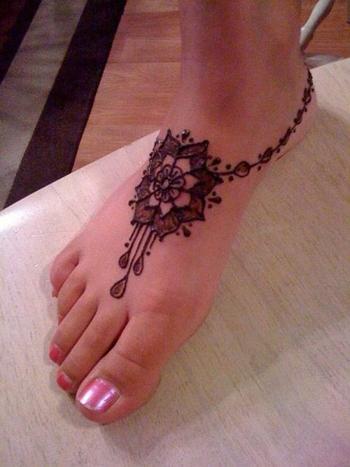 Arabic Mehndi Designs for Legs Awesome Collection , Mehndi