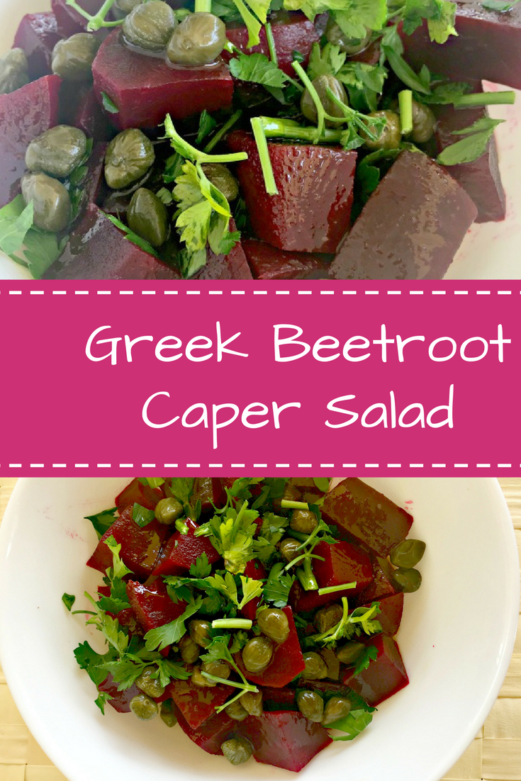 Beetroot Caper Salad Recipe - Ioanna's Notebook