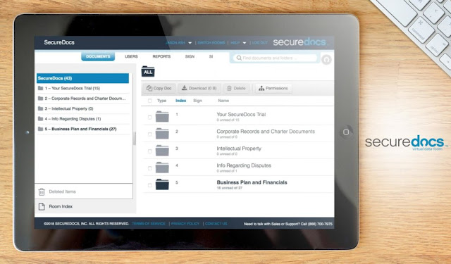 SecureDocs Virtual Data Room