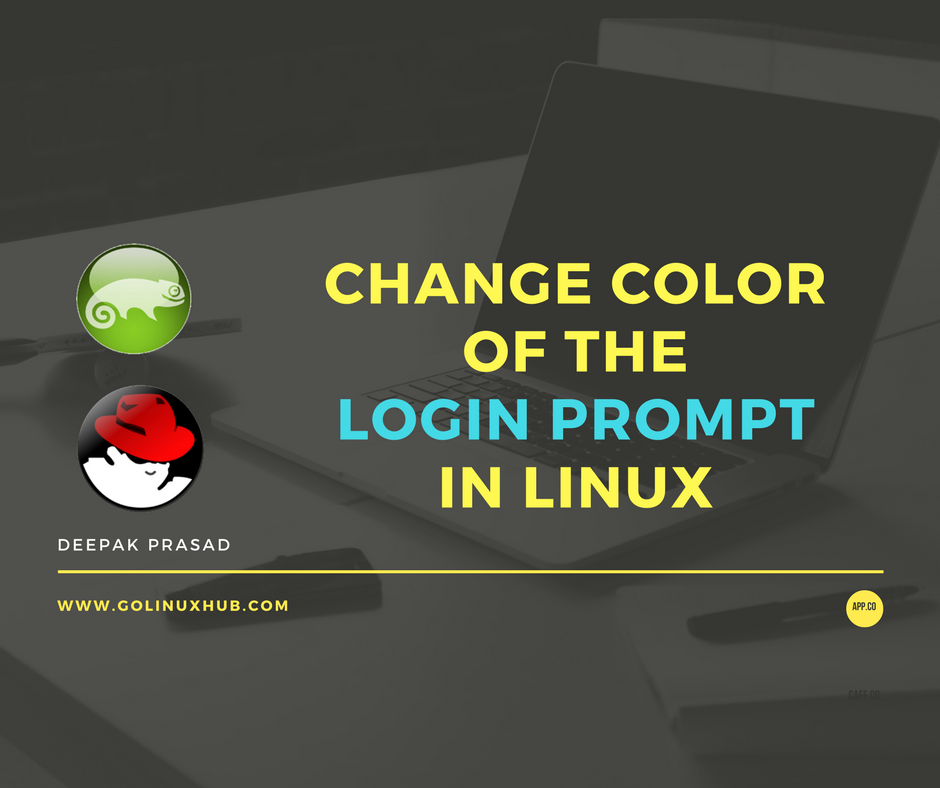 How to customize and change color of the bash login prompt