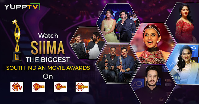 YuppTV Blog: Watch South India's biggest award function