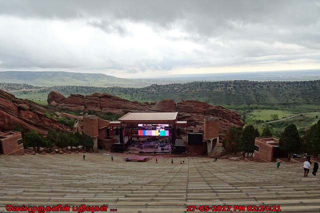 Red Rocks Amphitheatre Denver Colorado