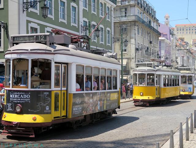 Spacer po Lizbonie
