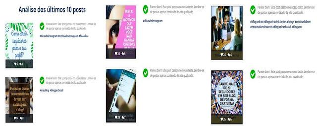 Publicações do Instagram sem Shadowban.