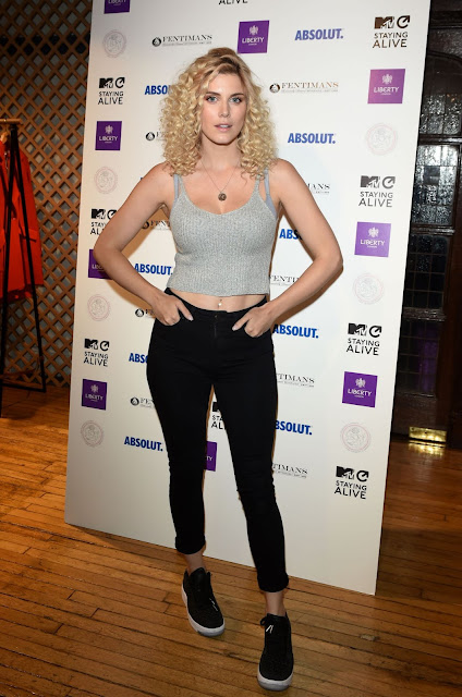 Ashley James – MTV Staying Alive x Liberty London Cocktail Reception