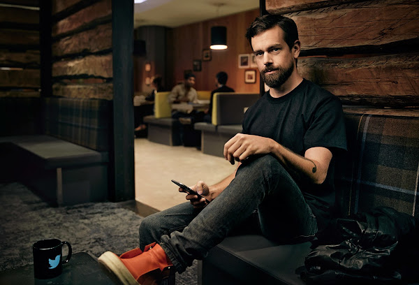 Jack Dorsey at Twitter headquarters
