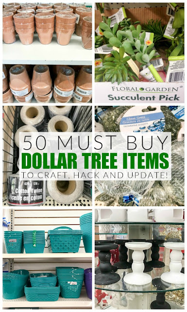 The best Dollar Tree items to craft, hack and update