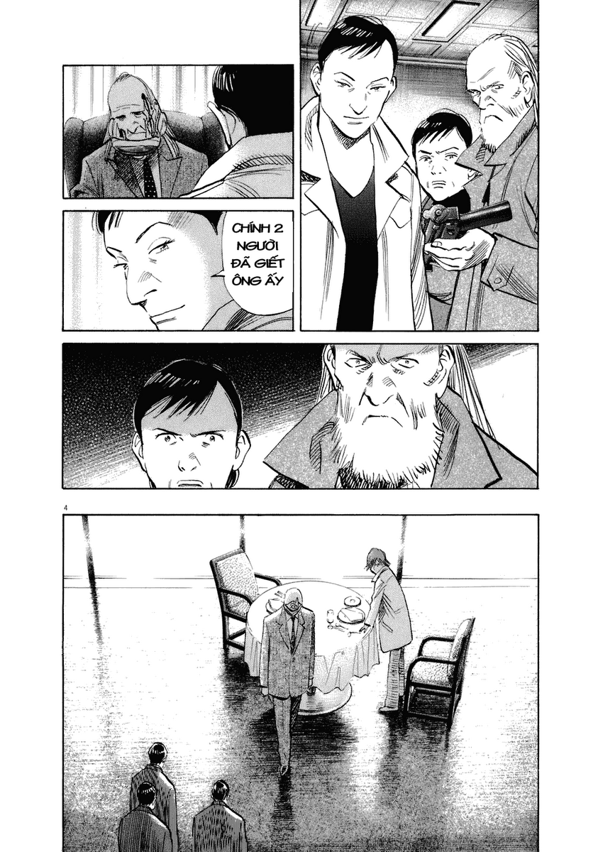 20th Century Boys chapter 222 trang 11