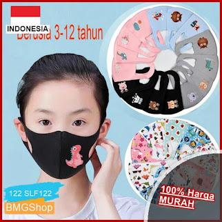 SLF122 Masker Anak Anti Debu Breathable BMGShop