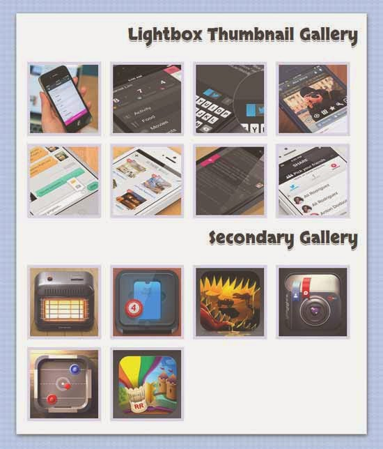 HTML5/CSS3 Image Thumbnail Gallery with Lightbox Effect