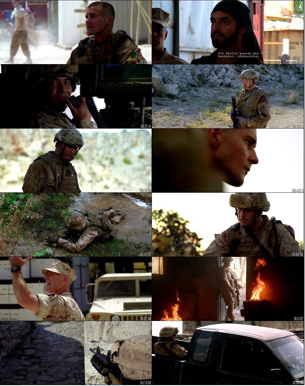 Screen Shot Of Jarhead 2: Field of Fire 2014 300MB Full Movie Hindi Dubbed Free Download 480P BRRip Small Size PC Movie