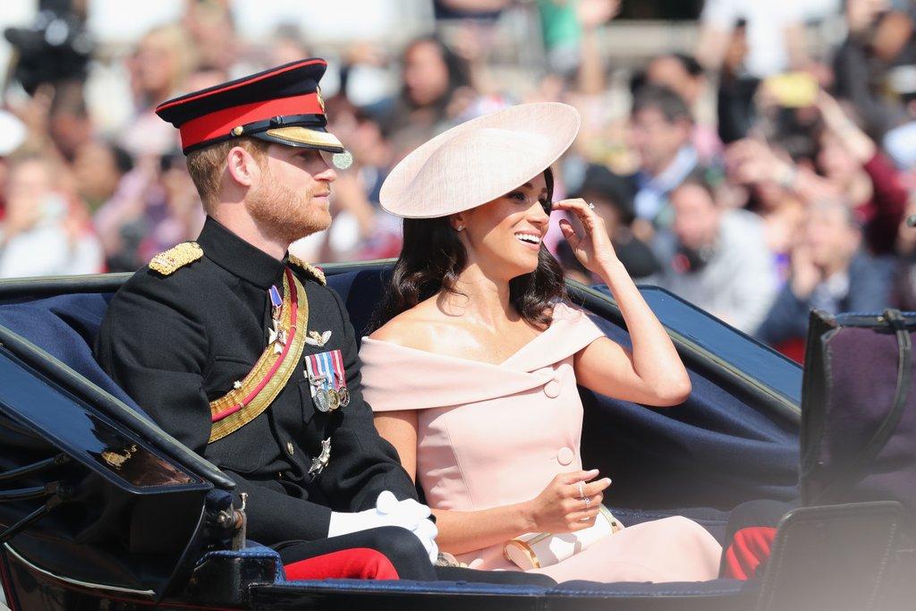 Trooping The Colour 2018 Duchessa Meghan Markle