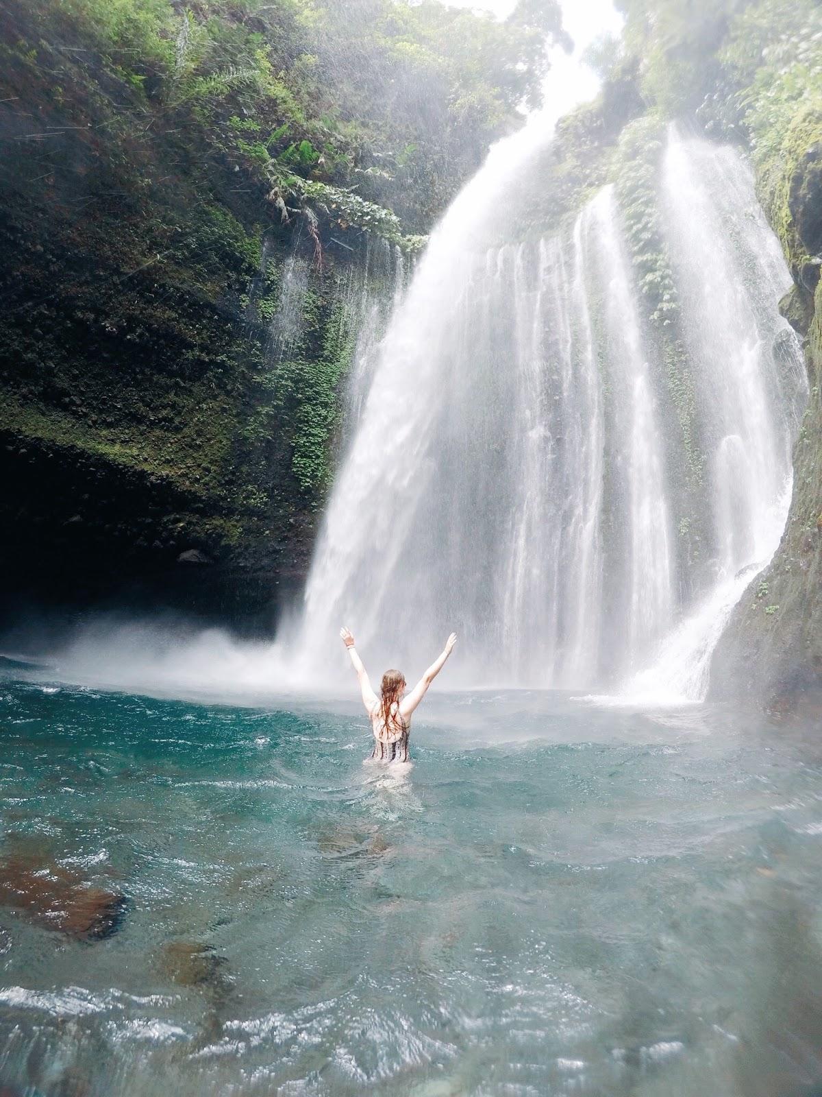 Tui Kelep Waterfall Lombok