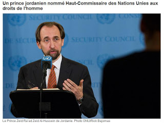 Le Haut-Commissaire de l'ONU aux droits de l'Homme