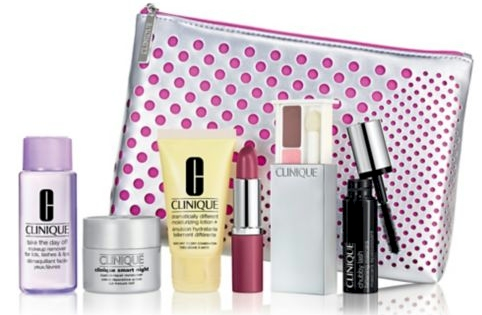 LOWEST THRESHOLD FOR A FREE CLINIQUE GIFT: 7-piece Clinique gift set with only a $28.00 Clinique purchase at Lord & Taylor