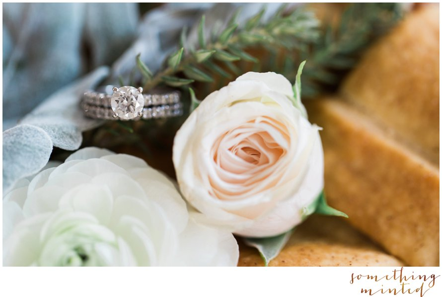 Wedding Ring Photography by Something Minted Photography