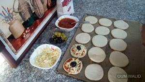 اسهل ميني بيتزا - مطبخ ام وليد