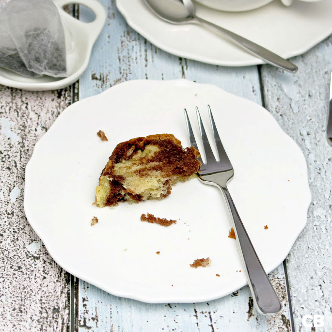 Het allerlaatste hapje marmercake