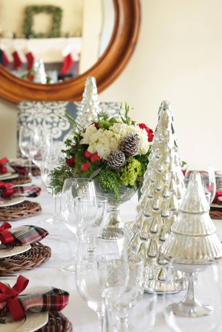 Christmas Table Decorating Ideas From Pinterest World Of