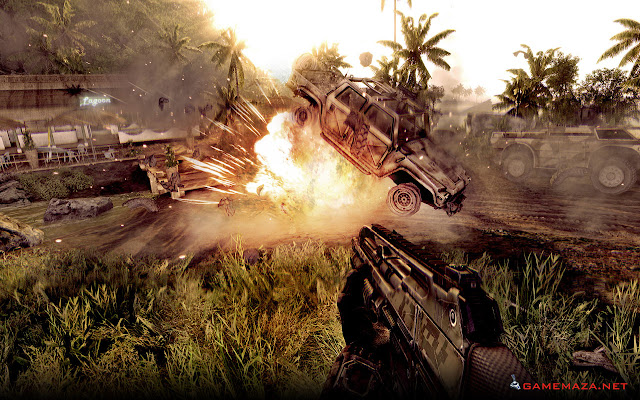 Crysis Warhead Gameplay Screenshot 3
