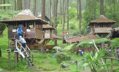 Tempat Wisata Keluarga Rumah Pohon di Bekasi