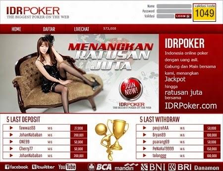 IDR Poker AGEN JUDI DEWA POKER ONLINE