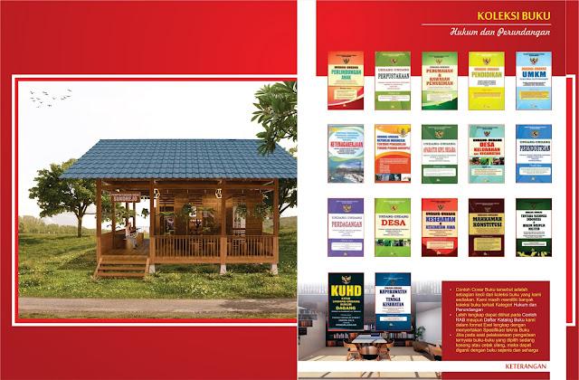 Buku Hukum dan Perundangan Untuk Perpustakaan Desa