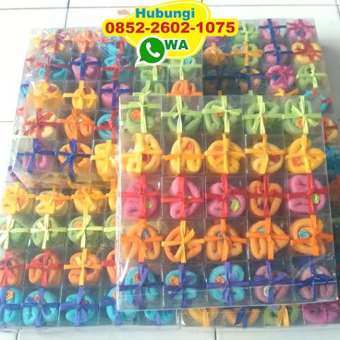 souvenir pernikahan towel cake 52734