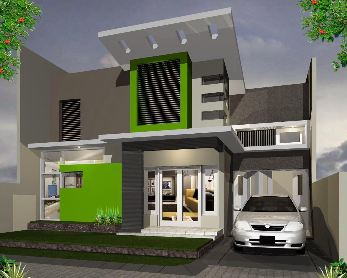 Warna Cat Rumah Minimalis Tampak Depan Terbaik Rumah