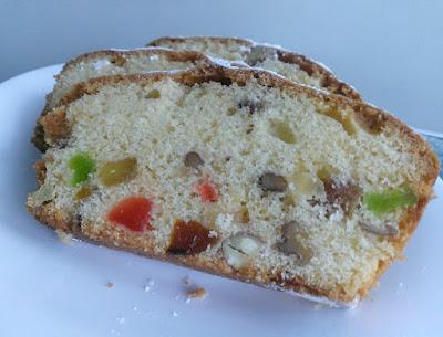 Ciasto keks z bakaliami