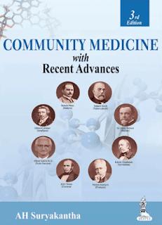 Community Medicine With Recent Advances - A H Suryakantha - 3rd edition