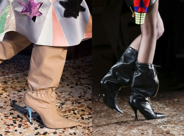 Fall-Winter 2018-2019 Women's Heeled Boots Fashion Trends