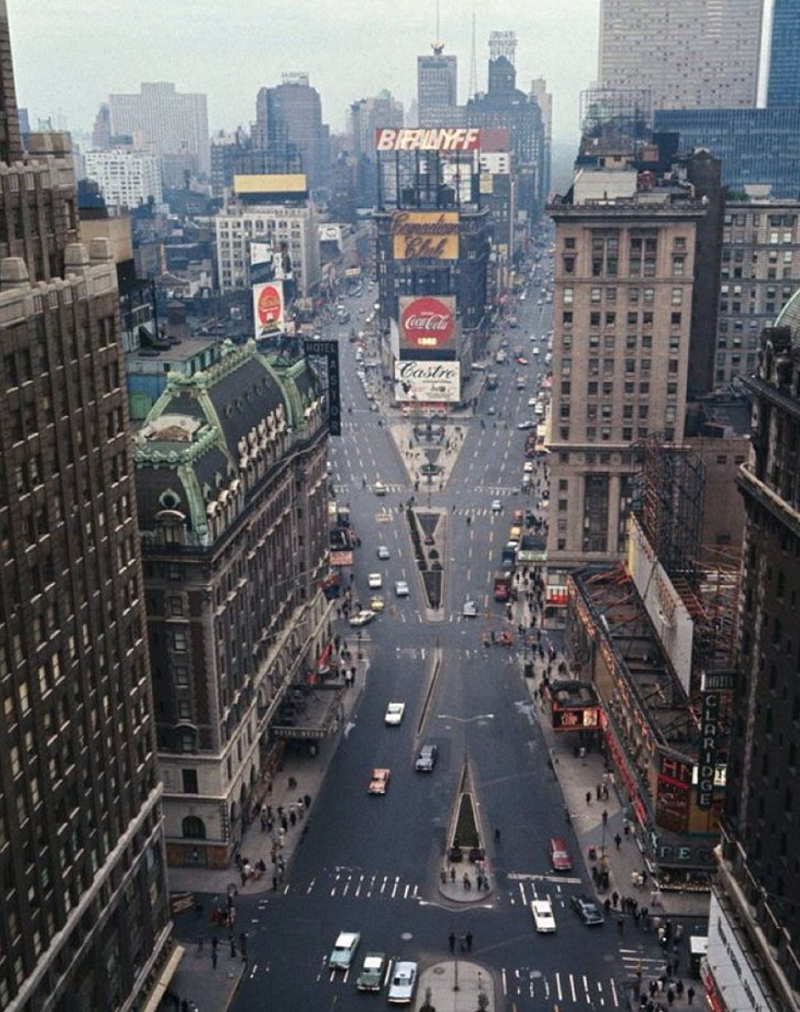 AbakusPlace: Photos Of New York City In The 1960s
