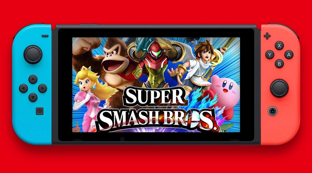 ¡Super Smash Bros, llegará este año a Nintendo Switch1!