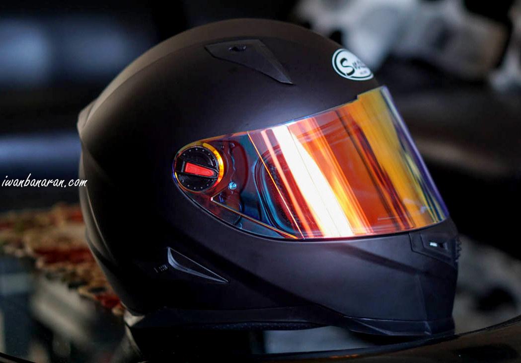 Pengen visor iridium awet dan tahan lama ? berikut ini tips merawatnya sob !