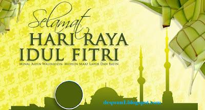 Ucapan Selamat Idul Fitri 1438H