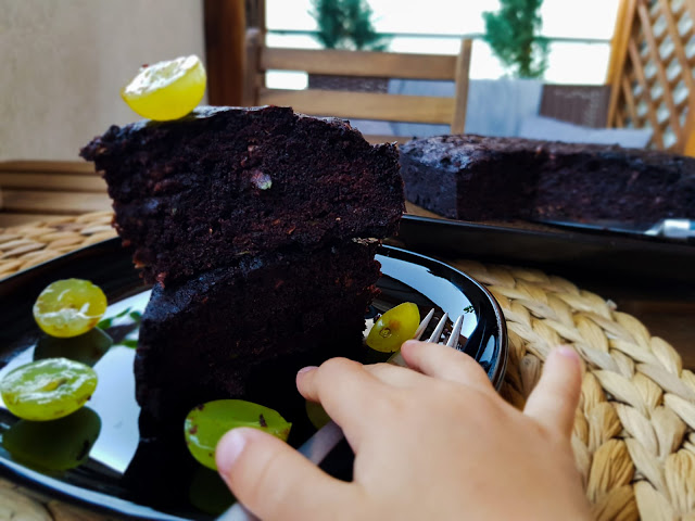 Bezglutenowe brownie z cukini