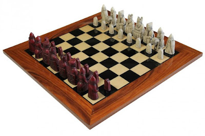 Reproducción del ajedrez de la Isla de Lewis