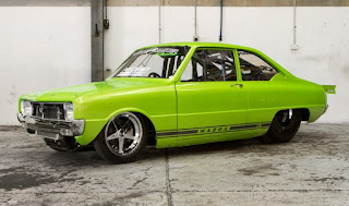 Mazda R100 with 1000HP Power Modification Side