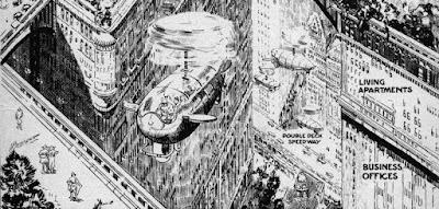 Així s'imaginaven les ciutats del futur al 1923 (i tant de bo es faci realitat algun dia)